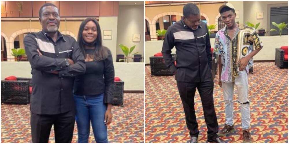Veteran Actor Kanayo O. Kanayo Celebrates Son and Daughter Who Share the Same Birthday as They Clock New Age