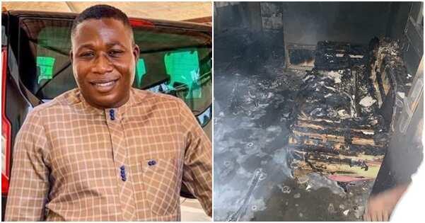 Sunday Igboho claims some Yorubas supported arsonists who razed his house