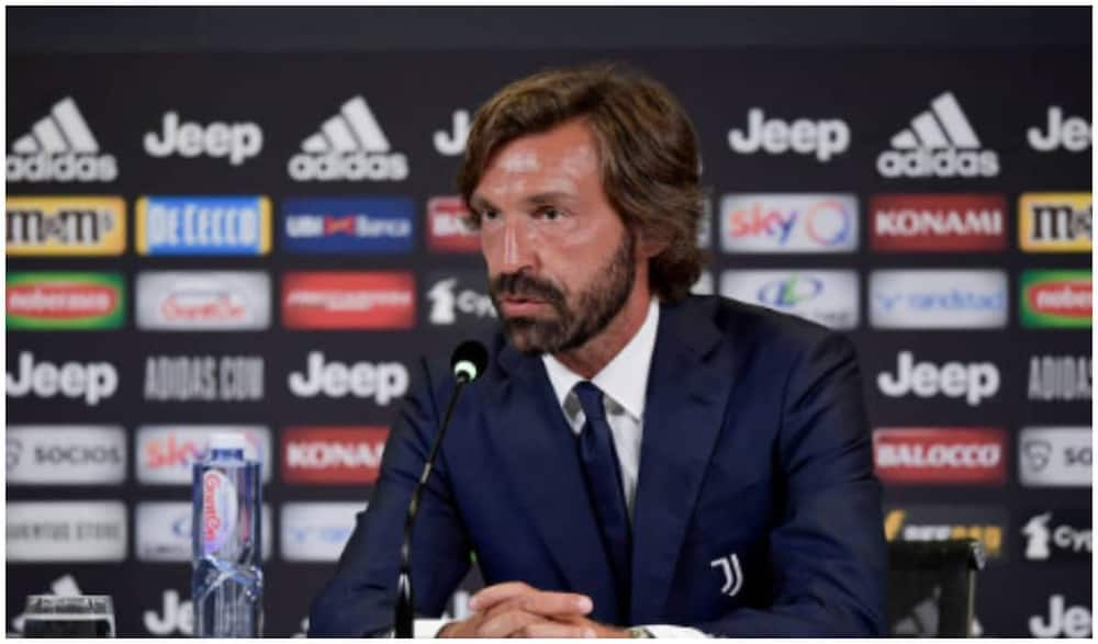 Andrea Pirlo appointed Juventus boss hours after Maurizio Sarri sacking