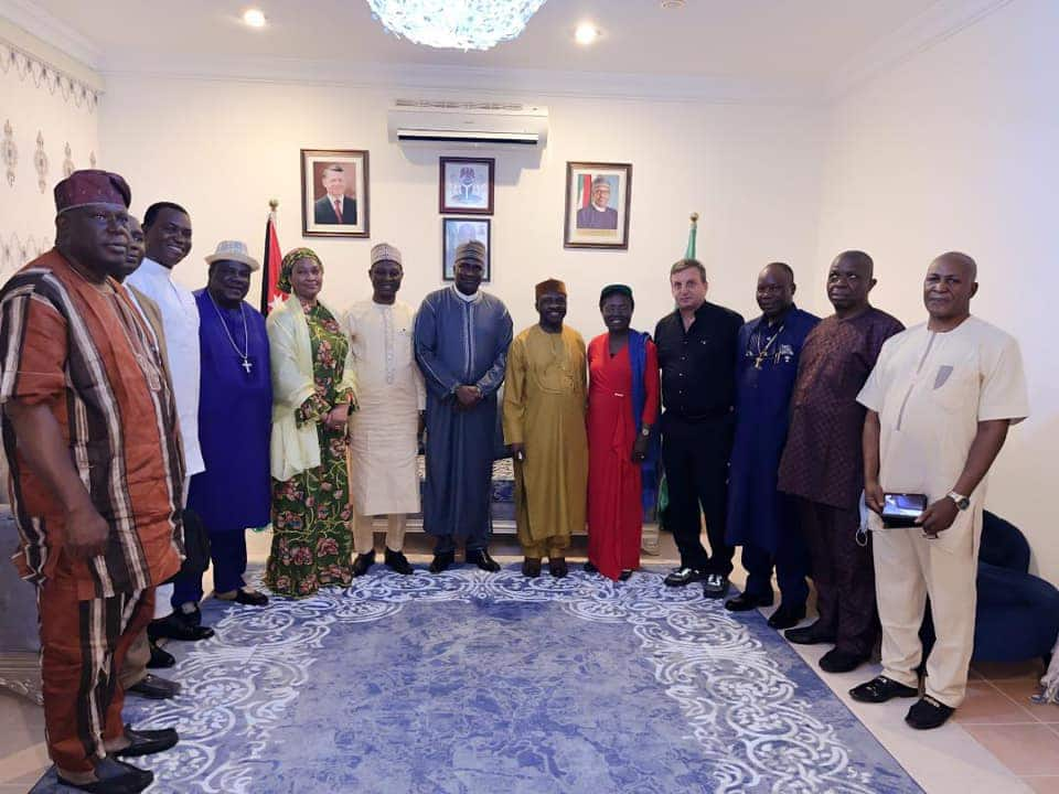 Jordan has been adopted as a permanent pilgrimage destination for Nigerians.