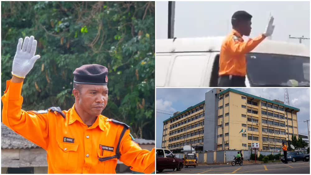 Nigerian traffic officer to receive big award for his selfless service in sun, rain