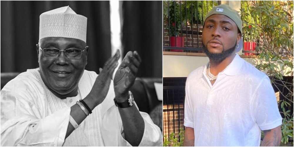 Atiku Abubakar and Davido