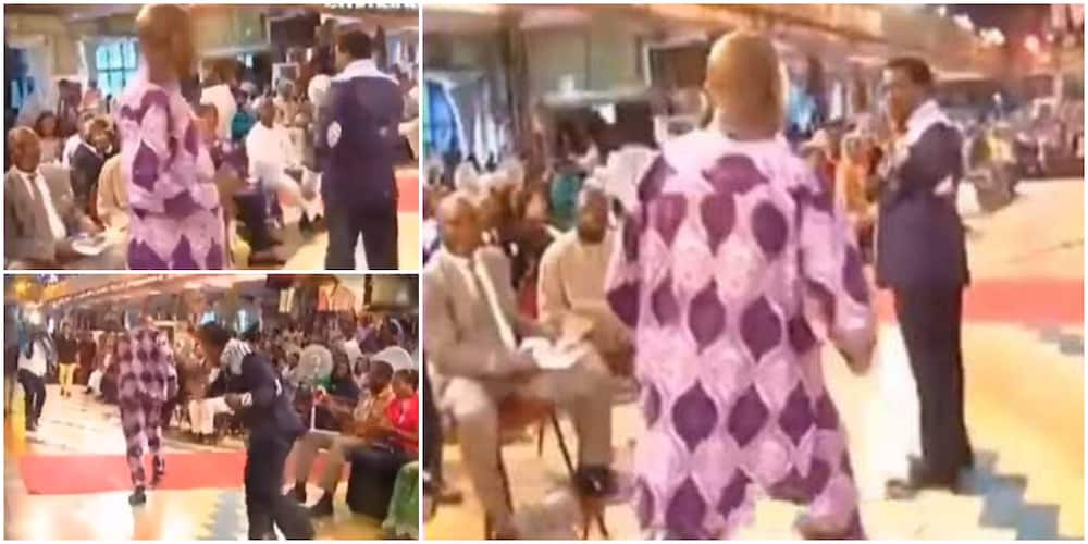 Throwback video shows epic moment man attempted to fight TB Joshua during a service in church