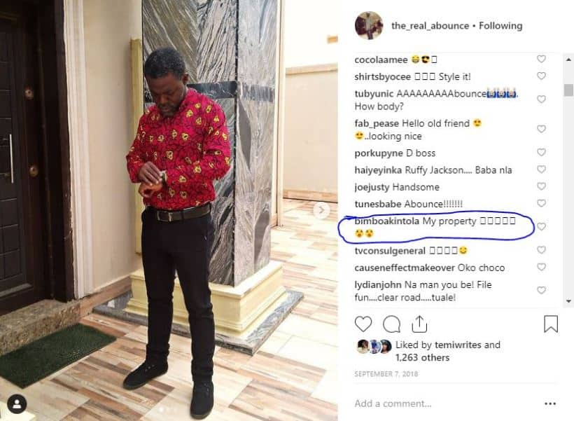 Actress Yvonne Jegede's marriage to Kunle Fawole allegedly crashes (screenshot)