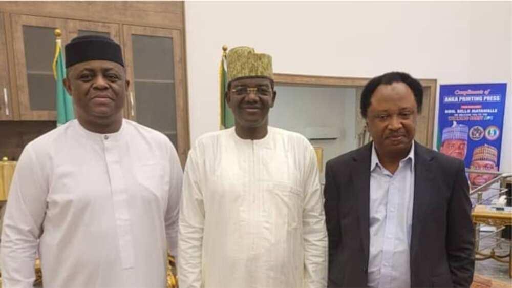 Fani Kayode, Shehu Sani sun ziyarci gwamnan da ya sauya sheka daga PDP zuwa APC, ana rade-radin za su bi sahu