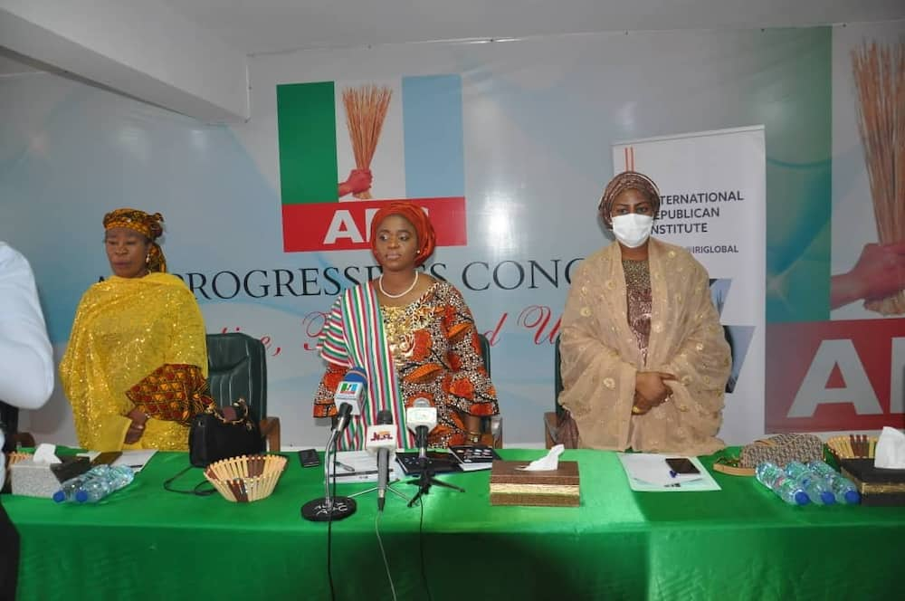 APC woman leader calls for women's participation in politics.