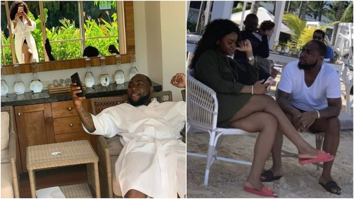 Davido and Chioma enjoy the time alone on the news of