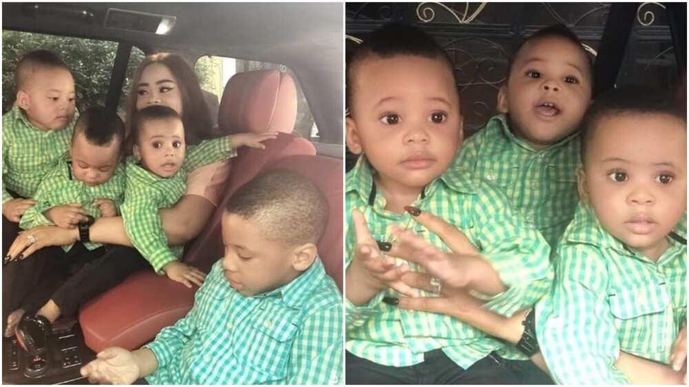 Femi Fani Kayode shares cute new family photos, praises God