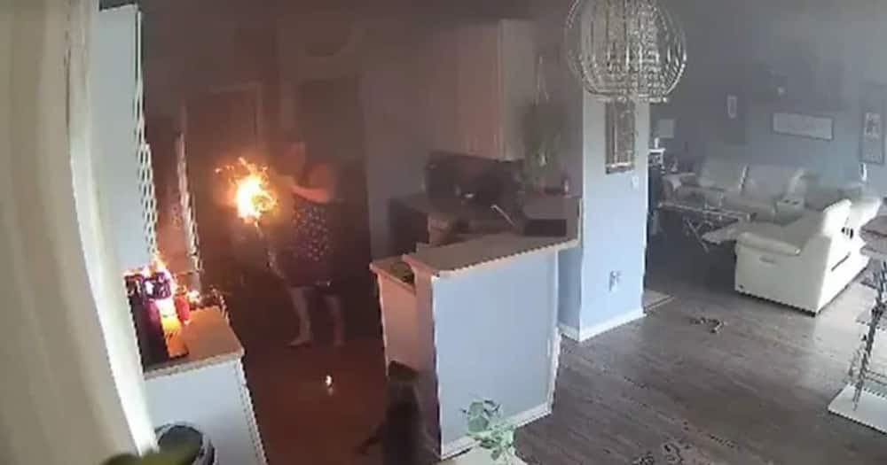4-Year-Old Girl Saves Her Family's House from Fire After Spotting Burning Appliance in Kitchen