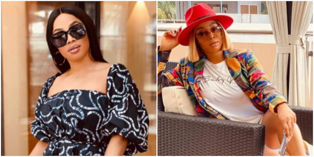Toke Makinwa says 2021 is all about men and women fearing each other