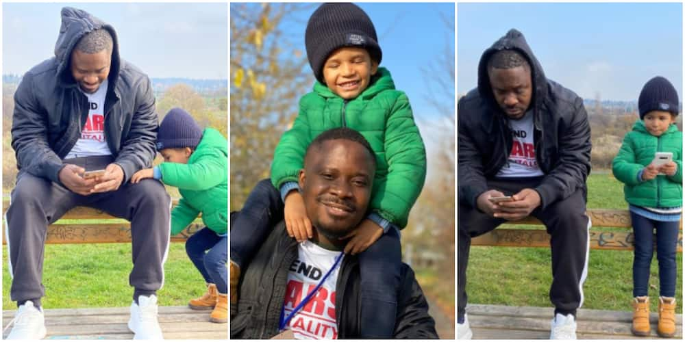 Too Cute: Fans and Colleagues Gush Over Beautiful Pictures of Singer Jaywon and Handsome Son