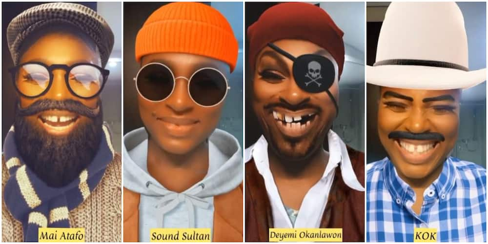 Making Faces: Actress Ufuoma McDermott Plays TikTok Game, Says She Resembles Sound Sultan, Other Celebs