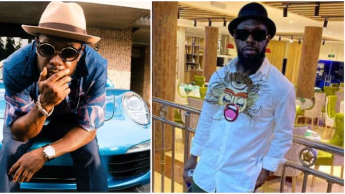 Plantain boy: Fans and colleagues celebrate singer Timaya as he turns new age