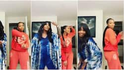 This is so cute: Nigerians compliment Tiwa Savage as she dances with Brandy amidst intimate tape saga