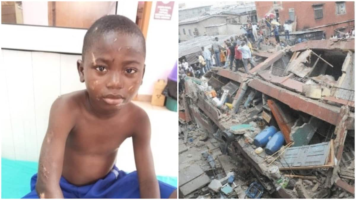 Orphaned student of Lagos building collapse Mubarak Olayinka cries out for help (photos)