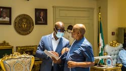 BREAKING: Okowa, Obaseki, south-south governors storm Rivers