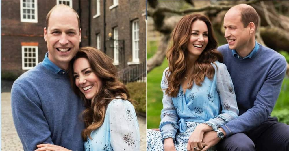 Kate Middleton rocks R154k necklace while posing for anniversary snaps