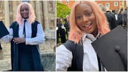 She did not make you poor: Reactions as Nigerians bash DJ Cuppy's lecturer for posting her matriculation photo