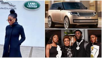 Proud of you: Burna Boy beams with joy as his sister Nissi designs new 2022 Range Rover, video of car wows many