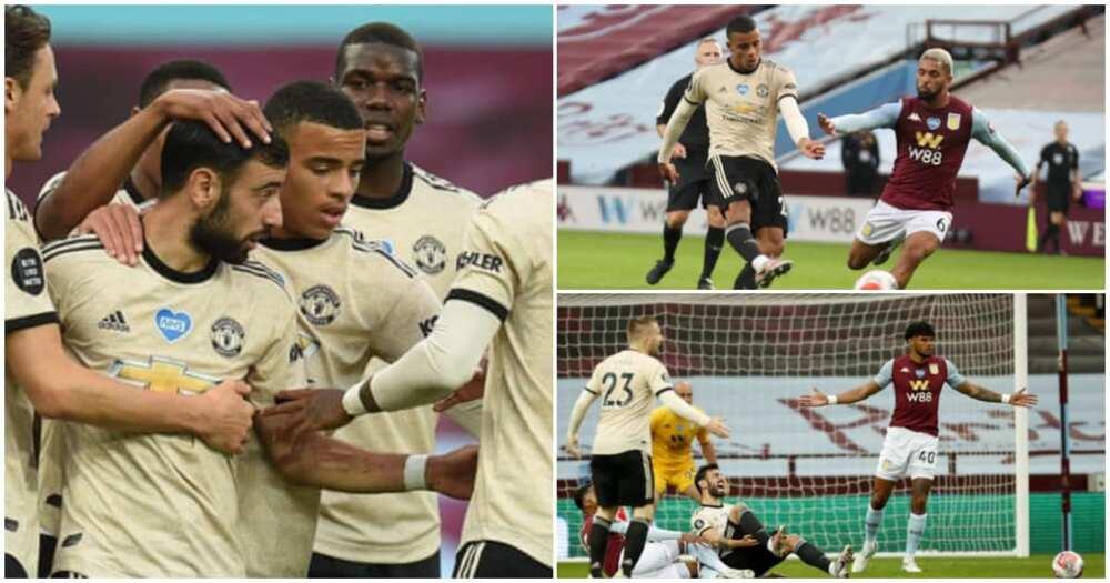 Aston Villa vs Man United: Fernandes, Greenwood shine as Red Devils win 3-0