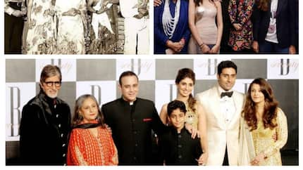 Amitabh Bachchan's family: Top facts about the movie dynasty