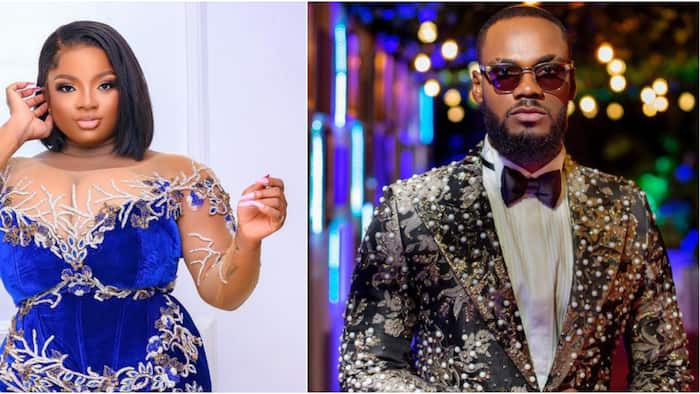 BBNaija Lockdown reunion: Prince totally ignores Dorathy as he exchanges greetings with other ex-housemates