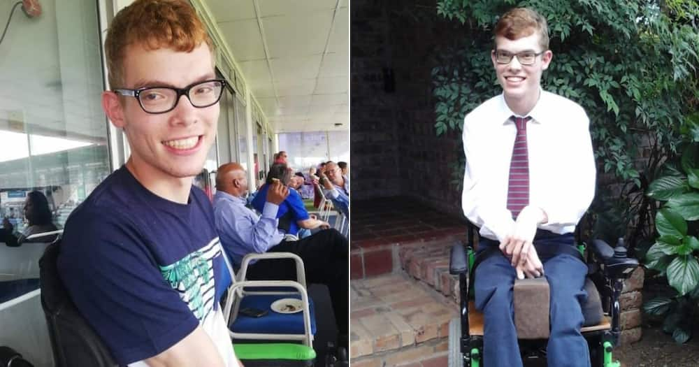 'Well Done, Ross': Student With Cerebral Palsy Graduates With 14 Distinctions