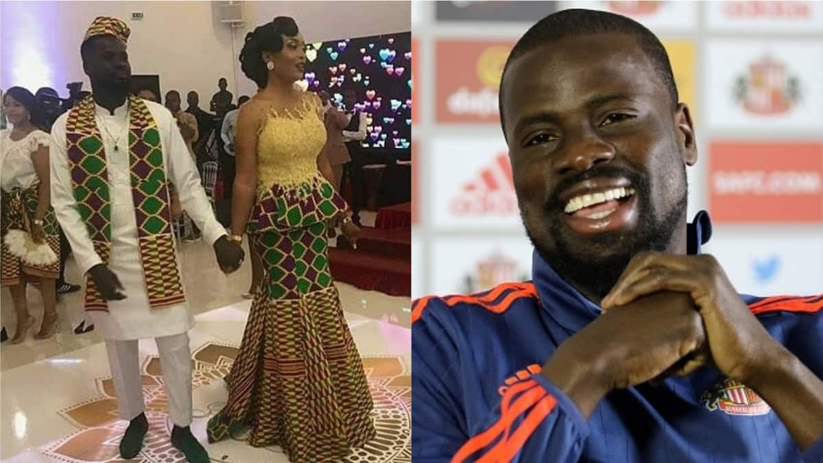 Emmanuel Eboue remarries former girlfriend Stephanie Boedé