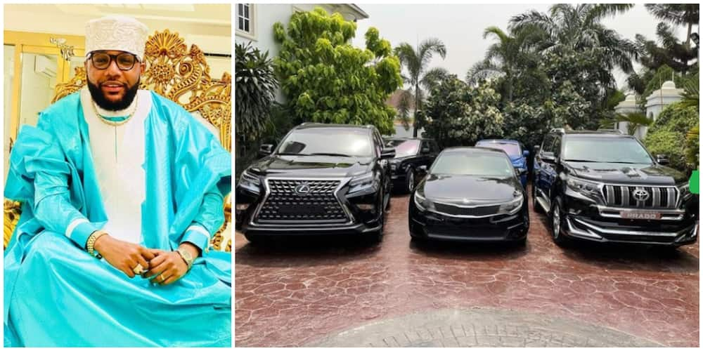 E-Money shares luxury cars to his relatives, friends, staff to mark 40th birthday