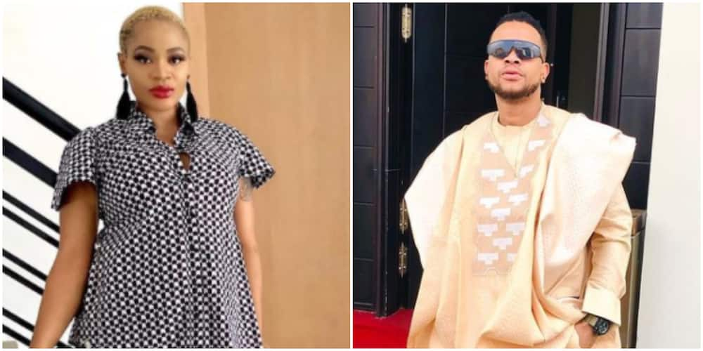 Thanks for blessing me with bunny: Actress Uche Ogbodo's baby daddy pens beautiful note on her birthday