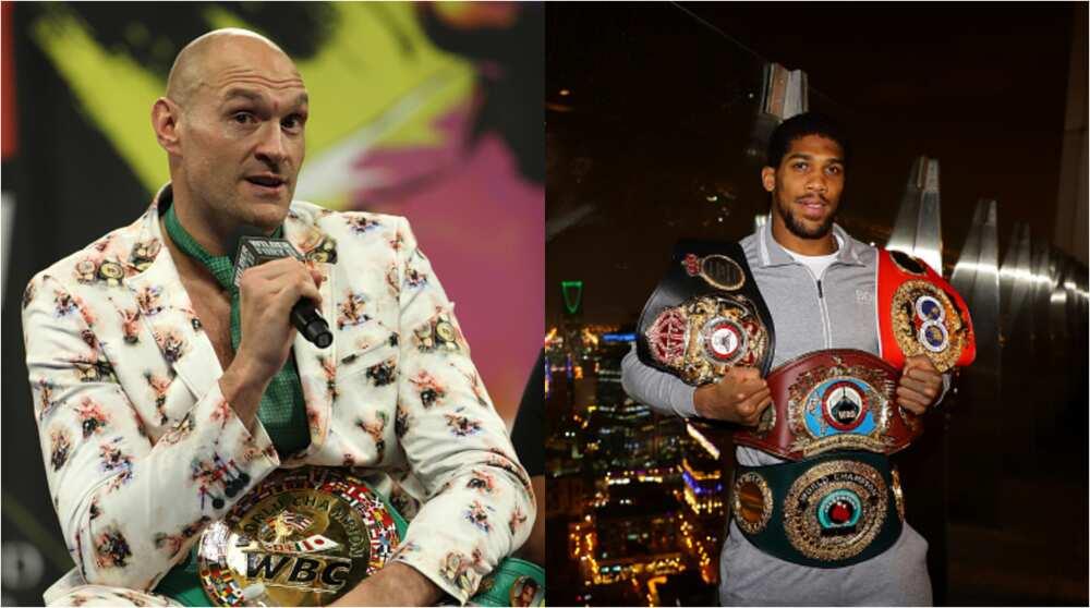 Tyson Fury taunts Anthony Joshua with KO loss to Andy Ruiz Jr