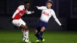 Saka, Balogun 2 others score as Pochettino's son features in Spurs 5-2 defeat to Arsenal