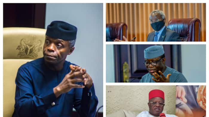2023: Osinbanjo, 3 southern APC chieftains who could succeed Buhari