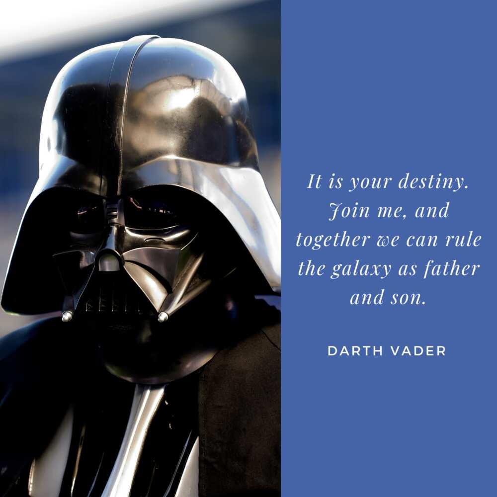 Darth Vader famous line