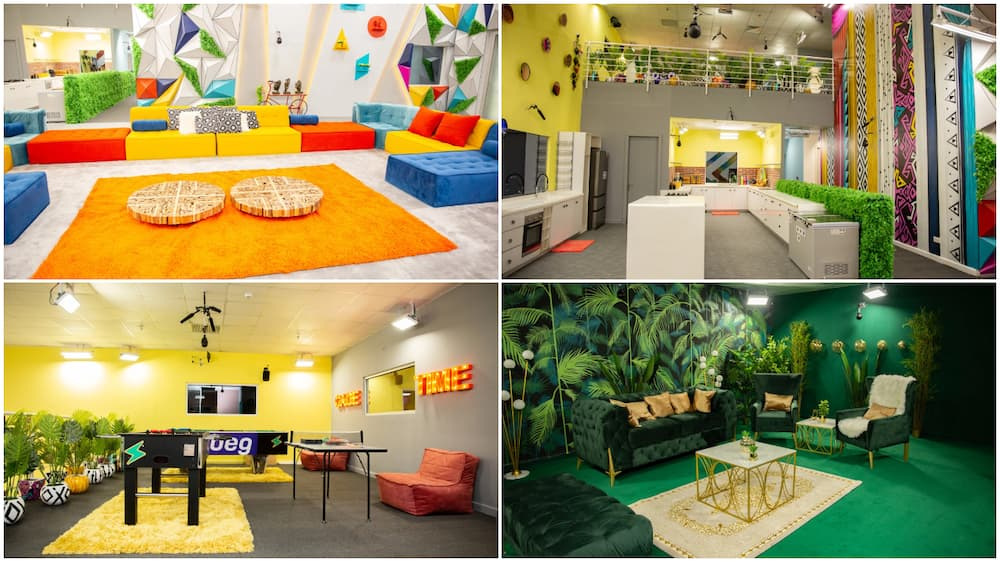 BBNaija 2021: Photos show inside upgraded house, the diary room is fire, there is now a washing machine