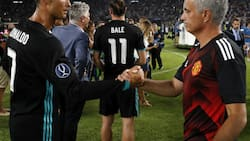 Mourinho sends stunning message to Ronaldo as he takes charge of Roma, the club Juventus star hates
