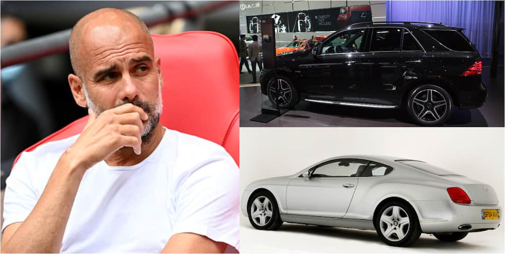 Pep Guardiola has damaged cars worth N263m since becoming Man City's manager