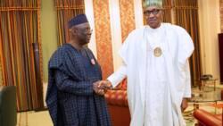 Ali ya ga Ali: Fasto Bakare ya gana da Buhari a fadar shugaban kasa