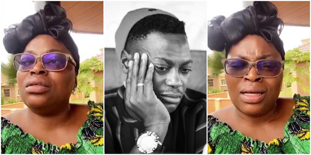 Funke Akindele reacts to Sound Sultan's death
