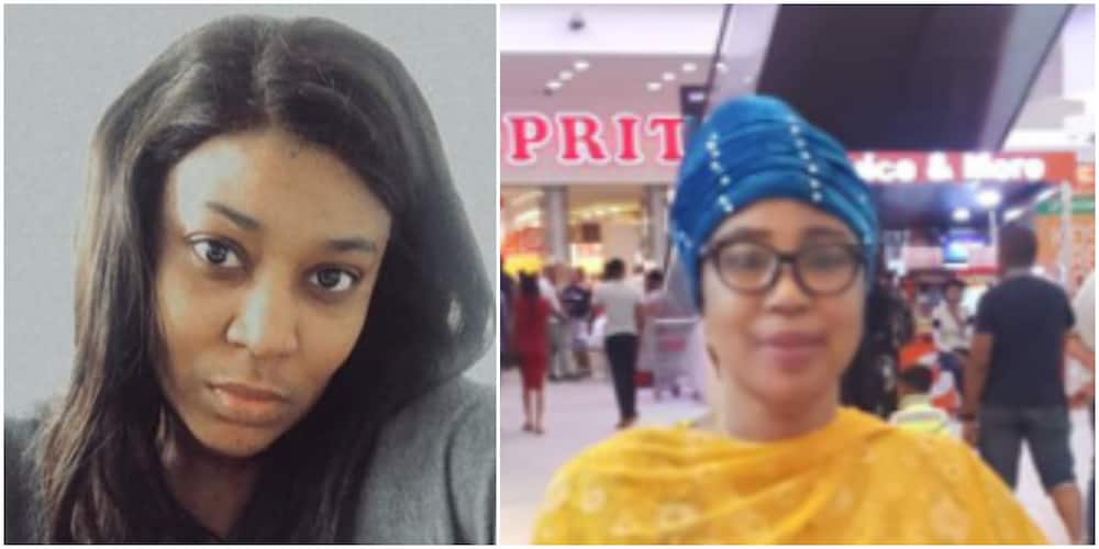 Nigerian lady announces she is looking for a partner for her mother