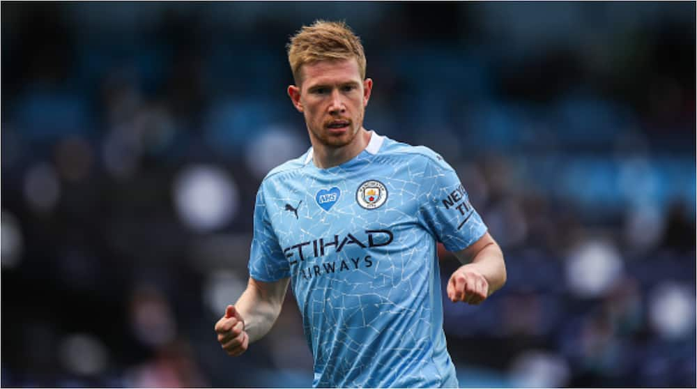 Kevin De Bruyne no.1 in list of 25 Premier League players in 2019/20 according to statistics