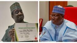 BREAKING: After long battle, Jarigbe gets sworn in as senator