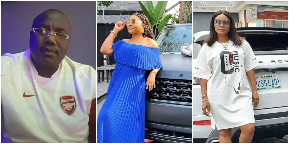 Image result for Reactions as Mercy Aigbe's ex-husband shares video of Iyabo Ojo