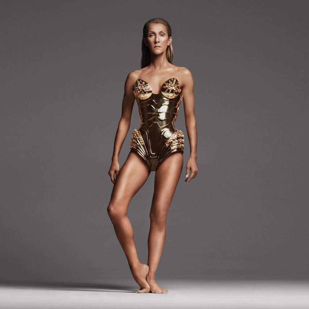 How old is Celine Dion