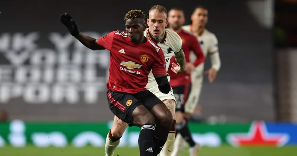 Ramadhan: Paul Pogba breaks fast during Manchester Utd match with Roma