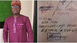 Once upon a good time: Kunle Afod stirs reactions as he shares a document showing when $1000 was N546