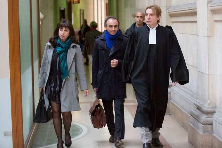Mylène Chichportich au tribunal