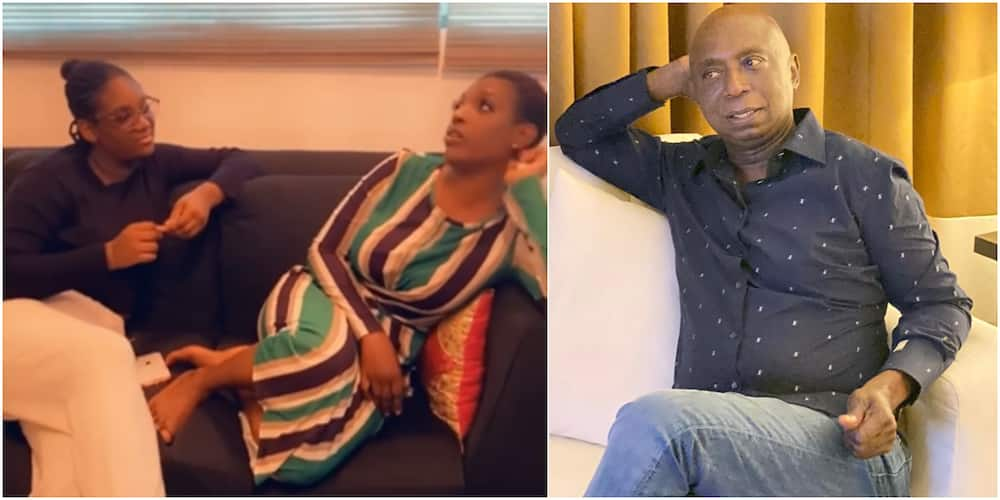 Actress Annie Idibia and Ned Nwoko