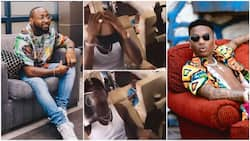 Emotional moment Wizkid dances and sings to Davido's song gets people talking, his video goes viral