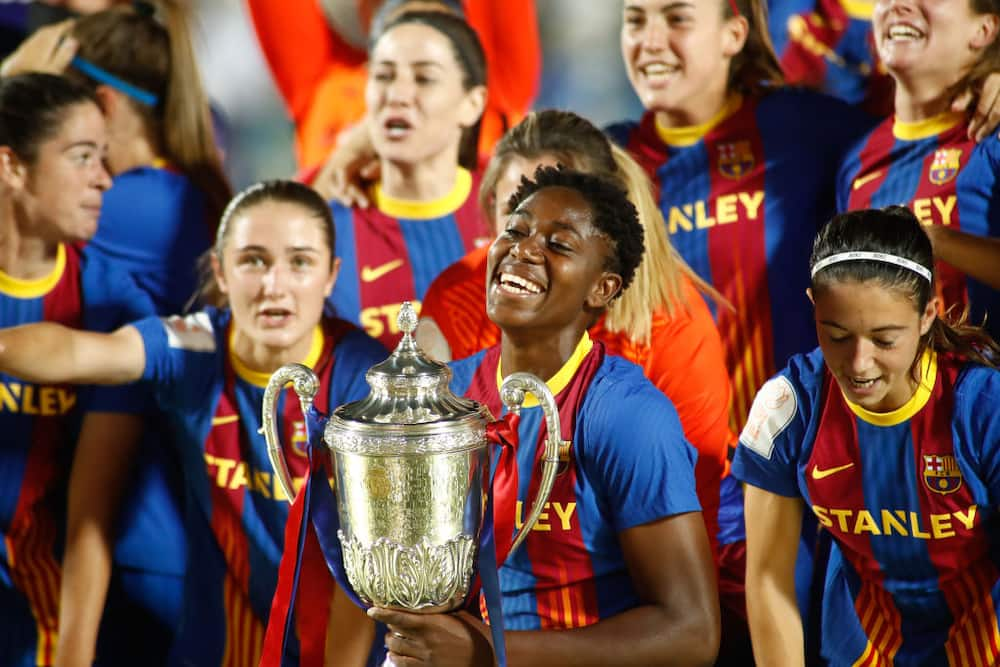 Nigerian star finishes among top 3 goal scorers for Barcelona in just concluded season